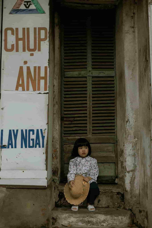 Bộ ảnh Em bé Hà Nội siêu đáng yêu và câu chuyện ý nghĩa phía sau-7