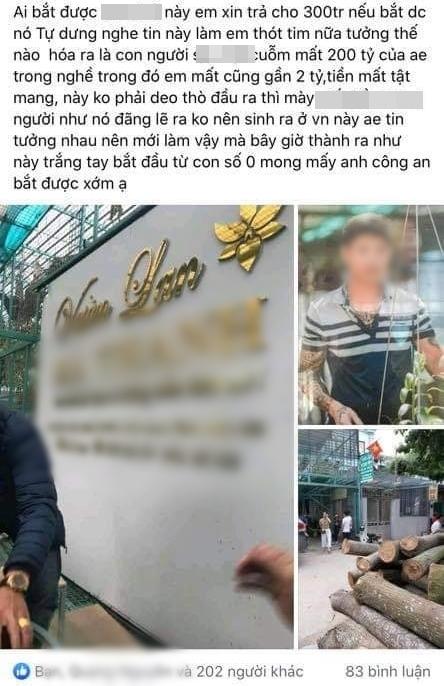 Xôn xao chủ vườn lan Hà Nội ôm 200 tỷ đồng của người mua bỏ trốn-1