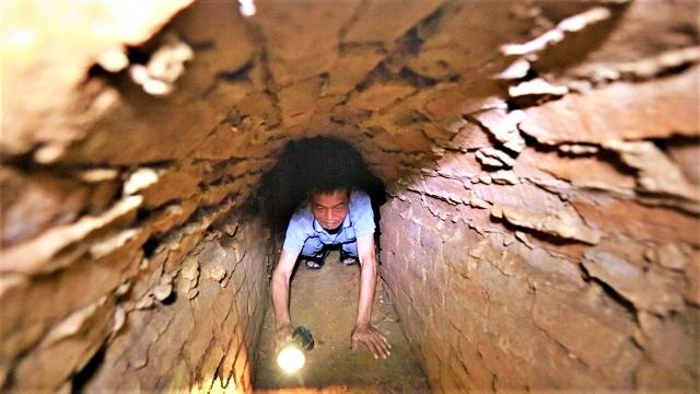Bên trong hầm địa đạo độc nhất của miền Bắc ở Hà Nội