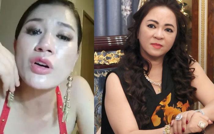 Trang Khàn livestream gửi lời tới bà Phương Hằng - vợ Dũng