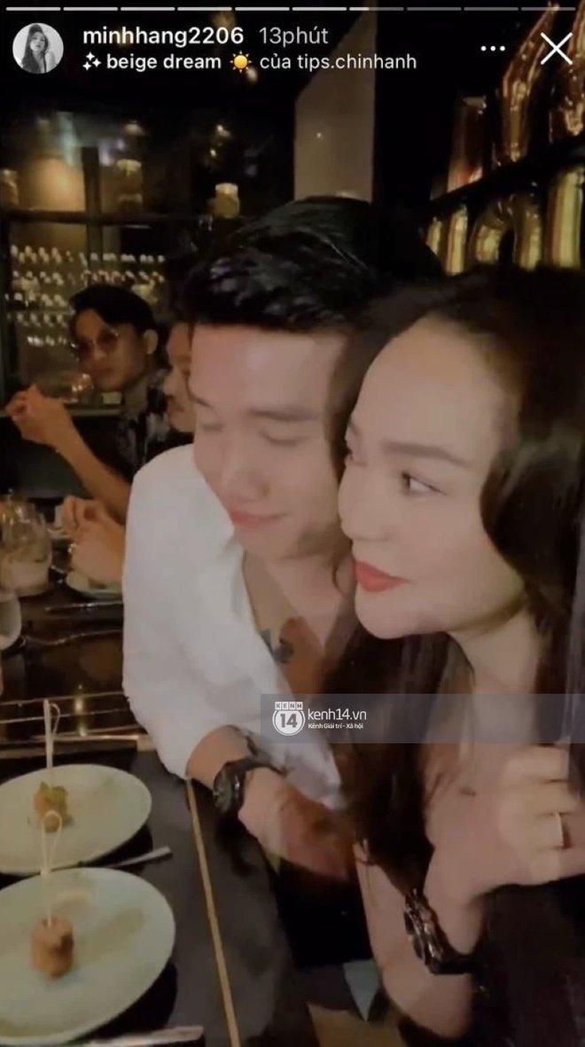 Bắt gặp Quốc Trường và Minh Hằng hẹn hò trong tiệc sinh nhật, ôm hôn công khai đến kéo nhau ra riêng 1 góc-12
