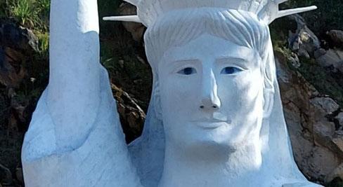 Chủ bức tượng Nữ thần tự do Sa Pa: