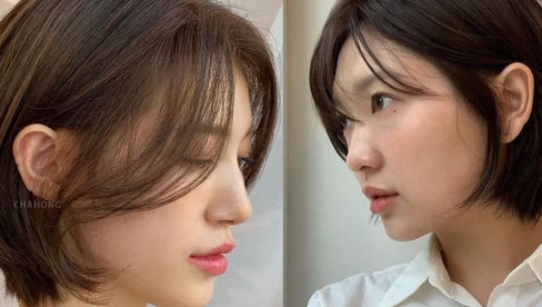 Kiểu tóc ngắn đang gây sốt tại các salon Hàn Quốc: Sành điệu và hack mặt nhỏ gọn thế này thì hot là đúng