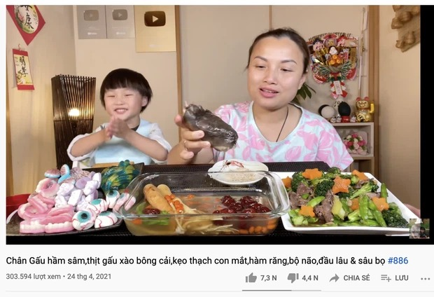 Quỳnh Trần JP nhiều lần bị chỉ trích vì dùng thực phẩm độc hại quay Youtube , nhưng gây tranh cãi hơn cả là cách cô xử lý khủng hoảng còn quá vụng về-1