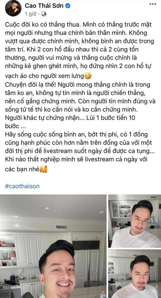Nathan Lee livestream tố loạt tin gây sốc về Cao Thái Sơn: Thuê giang hồ đánh bồ cũ, lừa tình và gạt tiền khiến người khác tự tử?-2