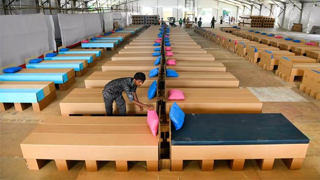 Lợi thế vượt trội của giường các-tông cho người bệnh tại Ấn Độ, Thái Lan