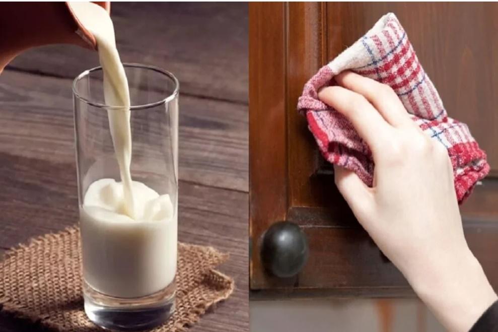 Uống sữa thừa đừng vội đổ đi, làm theo cách này mẹ chồng khó tính mấy cũng phải trầm trồ-1