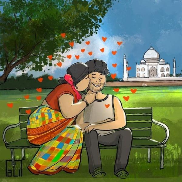 Bức phác họa hình ảnh vợ hô hấp cho chồng mắc Covid-19 gây xúc động-3
