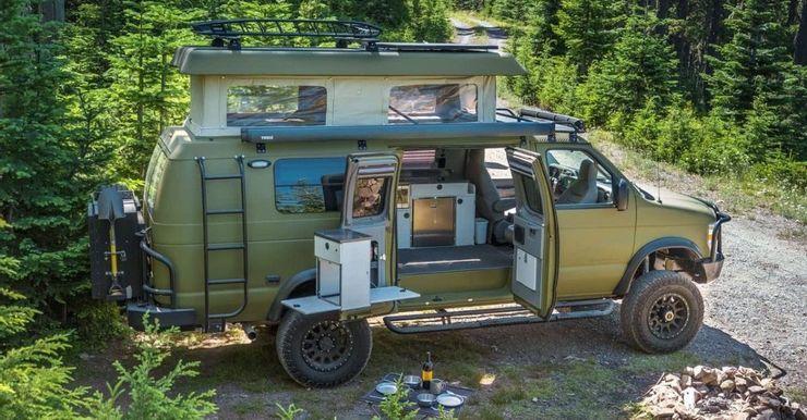 10 chiếc xe van cắm trại lý tưởng dành cho dã ngoại-13