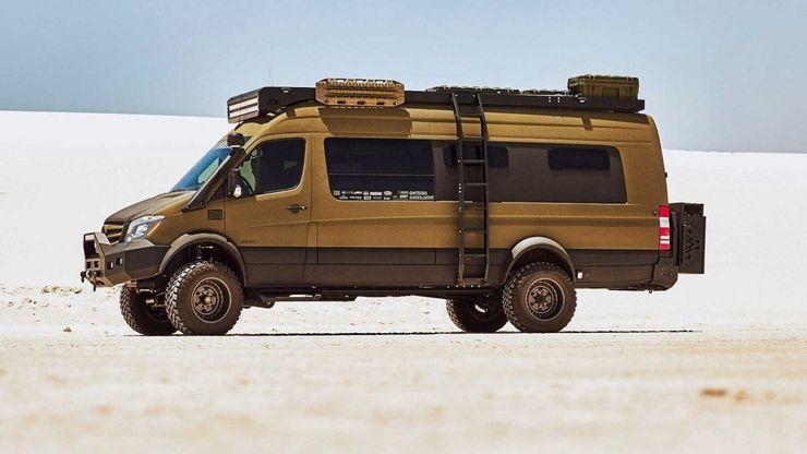10 chiếc xe van cắm trại lý tưởng dành cho dã ngoại-14
