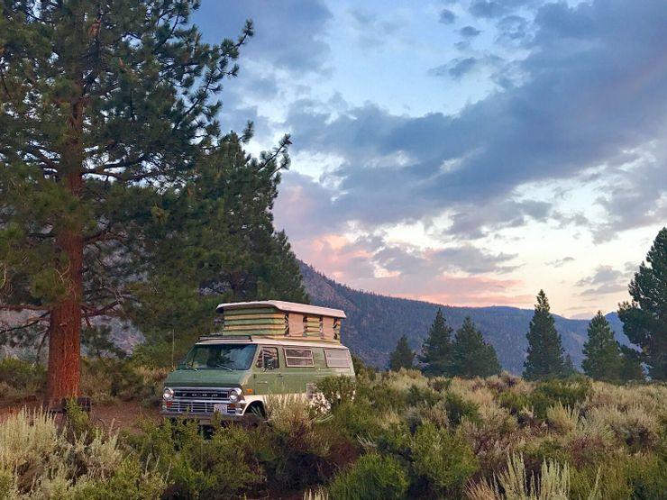 10 chiếc xe van cắm trại lý tưởng dành cho dã ngoại-5