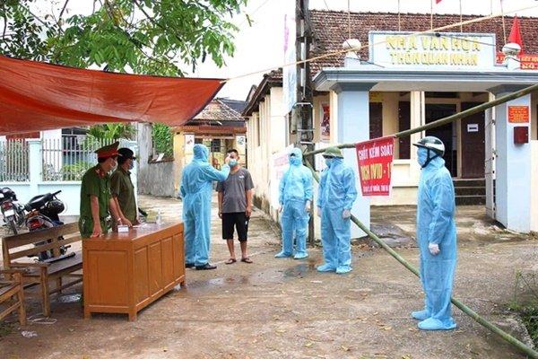 Hà Nam: Cách ly y tế 28 ngày đối với thôn có 5 thành viên trong gia đình nhiễm Covid-19-1