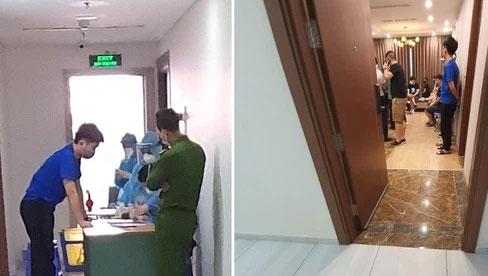 Phát hiện hơn 40 người Trung Quốc nhập cảnh trái phép thuê chung cư sống ở Hà Nội
