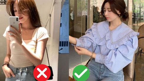 6 kiểu trang phục giúp che