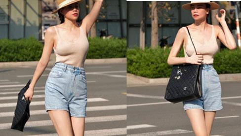 Lâu lắm mới thấy Hà Hồ diện quần shorts, và cách lên đồ xuất sắc hơn xưa bao nhiêu