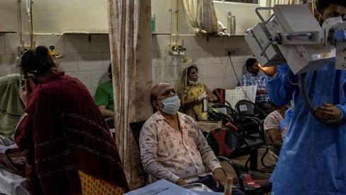 Ấn Độ chiếm gần nửa số ca nhiễm Covid-19 toàn cầu