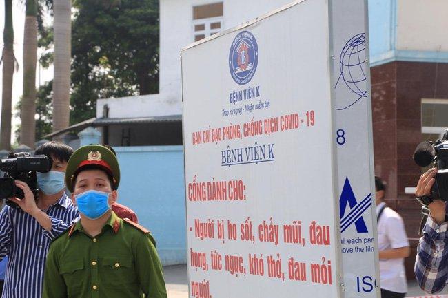 Bộ Y tế: Những ai đã đến Bệnh viện K từ ngày 22/4 được coi là F1-2