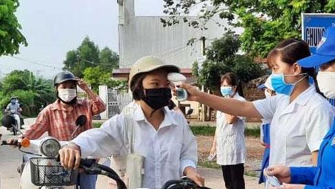 Bắc Giang ghi nhận 6 ca mắc COVID-19, có 3 người là công nhân trong khu công nghiệp