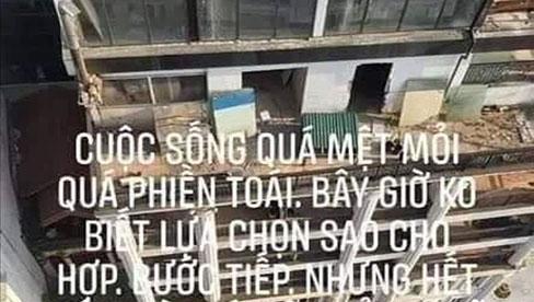 Xót xa dòng trạng thái cuối cùng của nam thanh niên nhảy từ tầng thượng khách sạn ở Hà Nội: