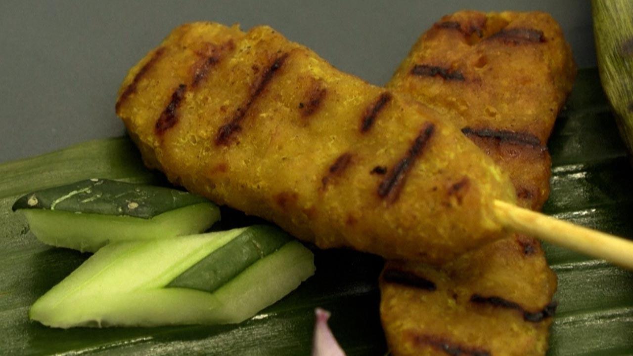 Thịt gà xiên nướng sản xuất từ phòng thí nghiệm
