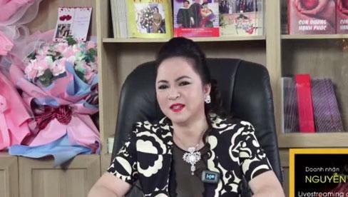 Bà Phương Hằng quát nhân viên ngay sóng livestream: Ồn ào quá!