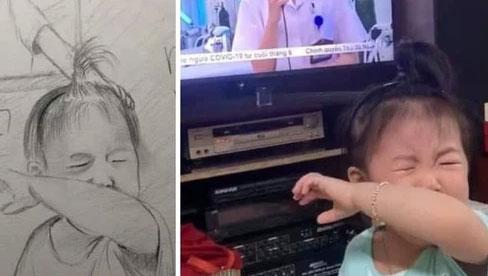 Tâm sự của nữ bác sĩ có con khóc đòi bế khi thấy mẹ trên ti vi: Dù hứa với con