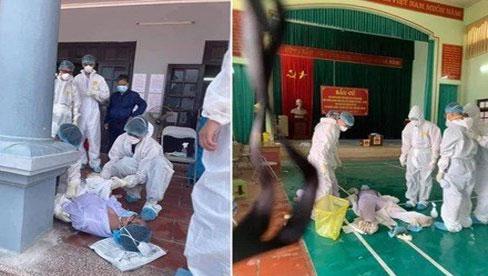 Nam sinh 20 tuổi ngất xỉu khi lấy mẫu xét nghiệm trong thời tiết 40 độ ở Bắc Giang: