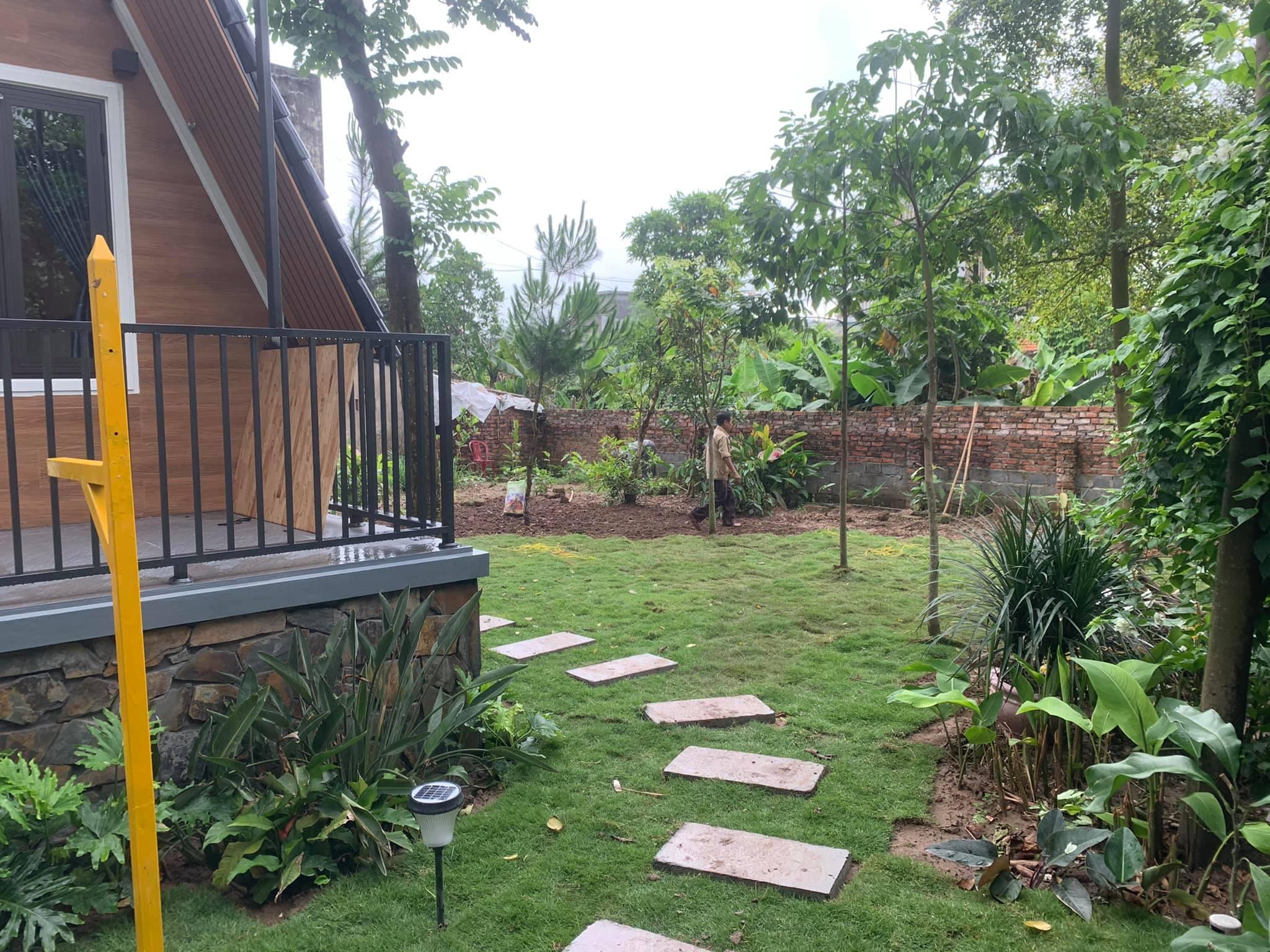 Kiến trúc sư biến mảnh đất ở quê thành 'khu resort tại gia'-12