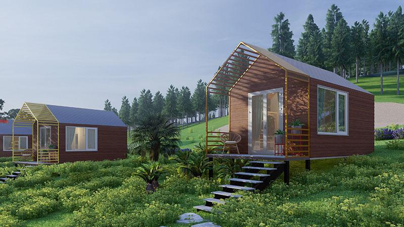 Kiến trúc sư biến mảnh đất ở quê thành 'khu resort tại gia'-2