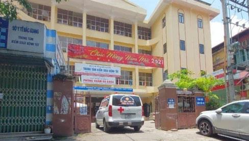 Giám đốc CDC Bắc Giang bất ngờ bị tạm dừng điều hành công việc