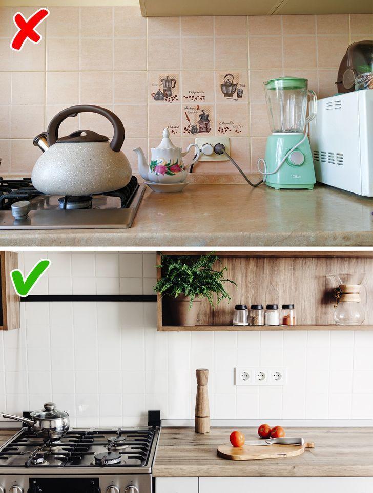Lột xác không gian nhà bếp với 8 mẹo cực đơn giản siêu tiết kiệm-6