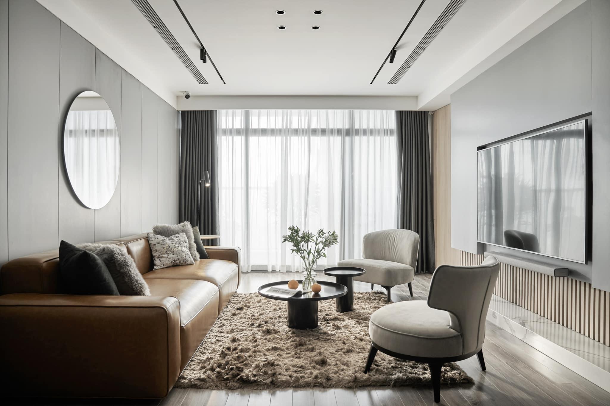 Thích mê ly căn hộ 'smarthome' 210m2 của gia đình nhiều trẻ con-1