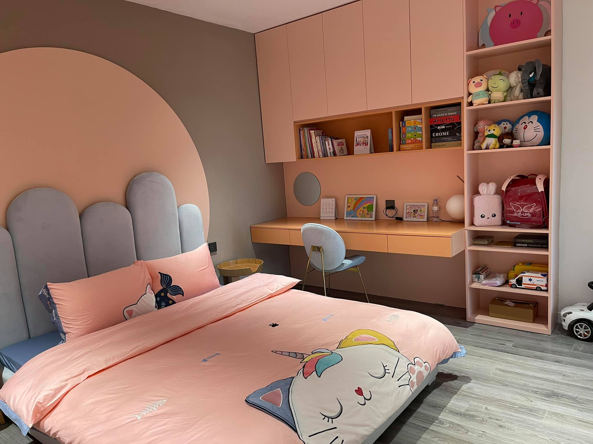 Thích mê ly căn hộ 'smarthome' 210m2 của gia đình nhiều trẻ con-11