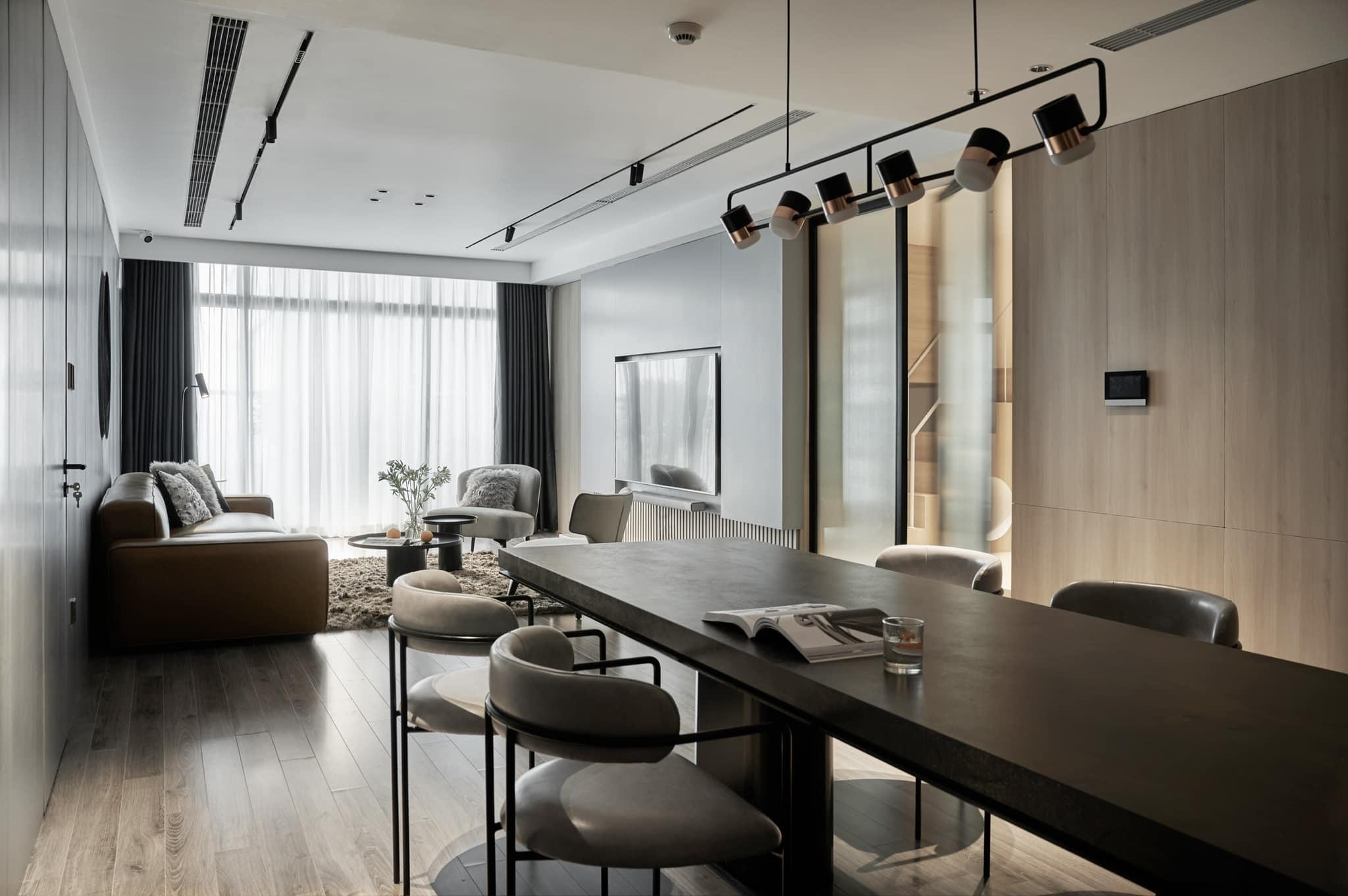 Thích mê ly căn hộ 'smarthome' 210m2 của gia đình nhiều trẻ con-5