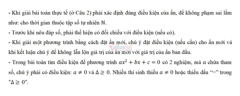 Thi lớp 10 Hà Nội: Những lỗi thí sinh cần tránh khi làm bài thi môn Toán-3