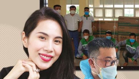 Giữa ồn ào từ thiện, Thuỷ Tiên ghi điểm khi làm điều này cho tập thể y bác sĩ Bắc Giang đang chống dịch Covid-19?