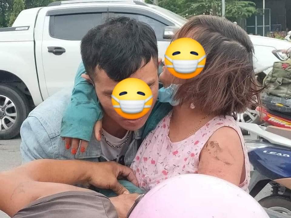 Mặc áo chống nắng đi xe máy, người phụ nữ mang bầu gặp tai nạn kinh hoàng: Lời cảnh tỉnh cho chị em mỗi khi ra đường vào mùa hè-3