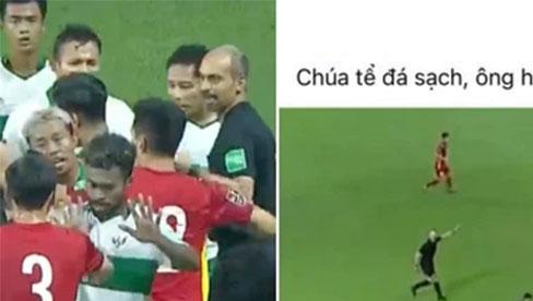 Xem trận Việt Nam VS Indonesia, muốn hét thất thanh giữa đêm: Đá bóng hay đá người?