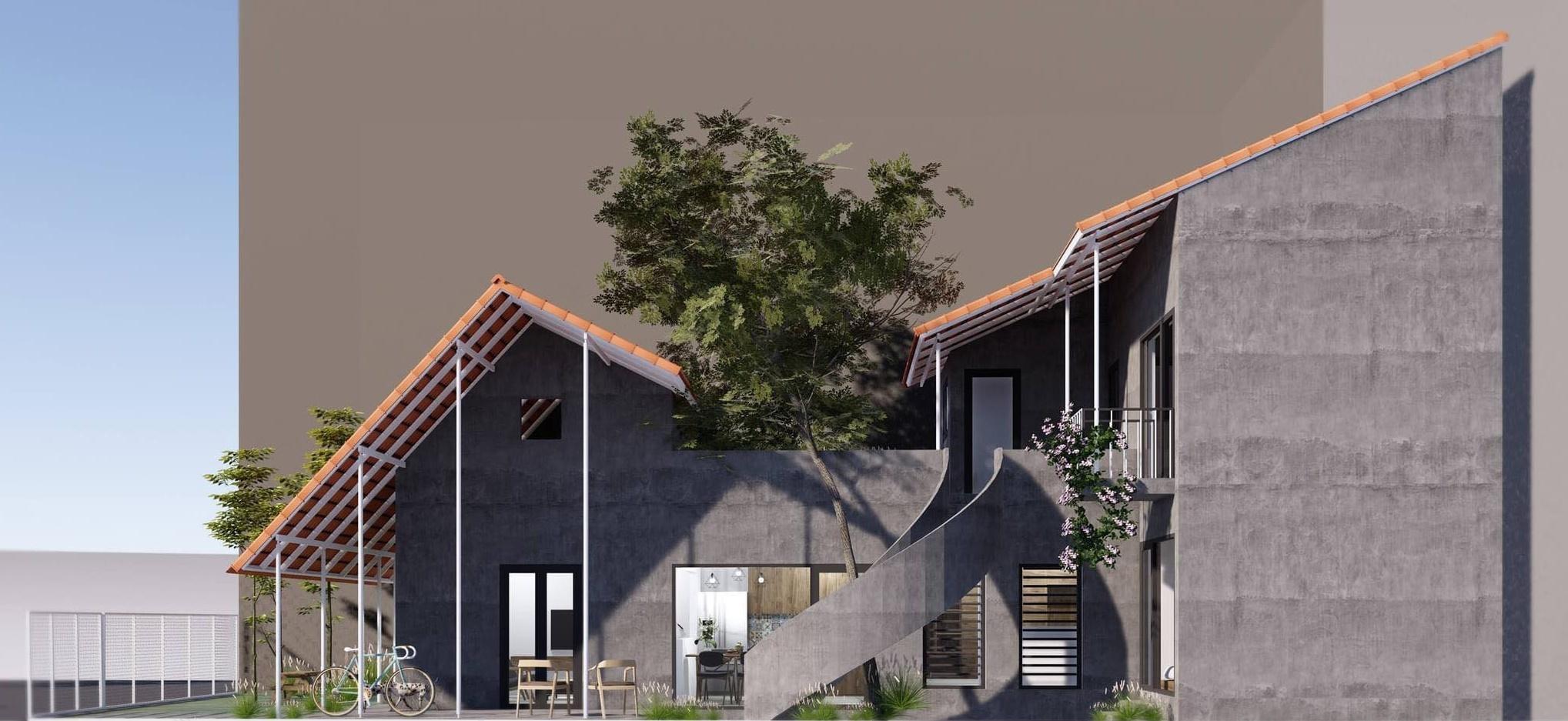 Ngôi nhà trát xi măng, xây hết 800 triệu đồng của nhiếp ảnh gia Nghệ An-2