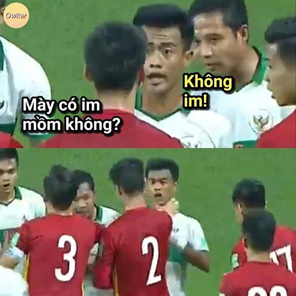Mưa meme đổ xuống mạng xã hội sau trận thắng của tuyển Việt Nam, mời 500 anh em cười mệt nghỉ-1