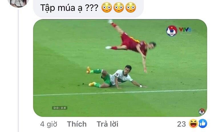 Mưa meme đổ xuống mạng xã hội sau trận thắng của tuyển Việt Nam, mời 500 anh em cười mệt nghỉ-15
