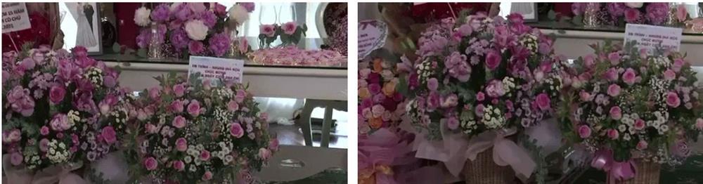 Bà Phương Hằng trang điểm như cô dâu, thiết kế quanh nhà như tiệc cưới bằng hoa tươi để kỷ niệm 15 năm ngày cưới-4