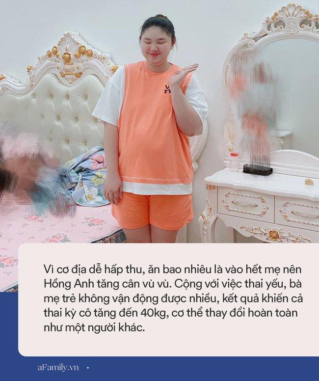 Mẹ Hà Nội đẻ lần đầu xinh đẹp vạn người mê, bầu lần 2 tăng vọt 40kg như bị biến hình khiến chồng đi công tác về không nhận ra vợ-5