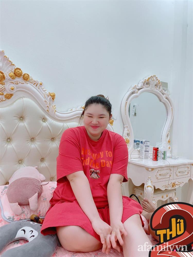 Mẹ Hà Nội đẻ lần đầu xinh đẹp vạn người mê, bầu lần 2 tăng vọt 40kg như bị biến hình khiến chồng đi công tác về không nhận ra vợ-7