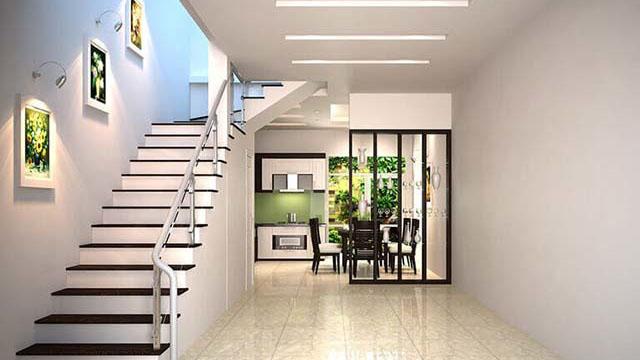 Nguyên tắc phong thủy không đặt cầu thang ở giữa nhà