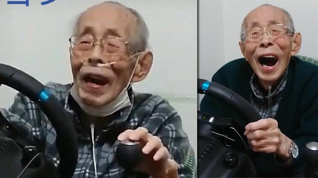 """Cụ ông 93 tuổi thành """"tay đua cự phách"""" triệu người theo dõi"""