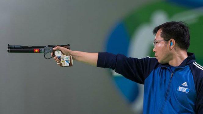 Hoàng Xuân Vinh dự Olympic 2021 theo suất mời