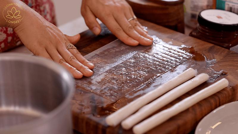 Bánh tráng Việt bất ngờ thành món ăn trào lưu ở Hàn Quốc-1