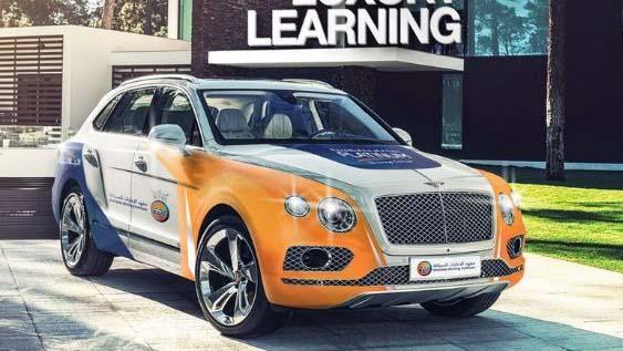 Dubai: Dùng siêu xe Bentley, Porsche cho học viên tập lái