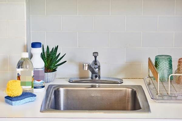 Cách làm sạch và khử trùng bồn rửa bát siêu hiệu quả-2